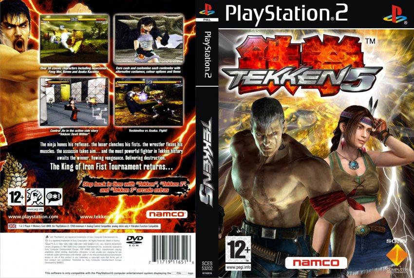 Tekken 5 Europe Australia En Fr De Es It Iso Ps2 Isos