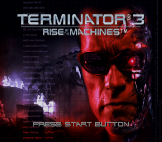 Screenshot Thumbnail / Media File 1 for Terminator 3 - Rise of the Machines (Europe)