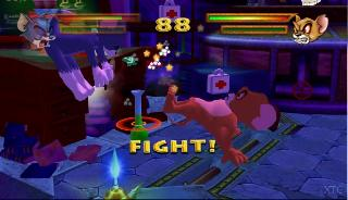 Screenshot Thumbnail / Media File 1 for Tom and Jerry in War of the Whiskers (Europe) (En,Fr,De,Es,It,Nl)