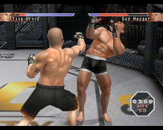 Screenshot Thumbnail / Media File 1 for UFC - Sudden Impact (Europe)