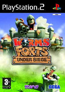 Screenshot Thumbnail / Media File 1 for Worms Forts - Under Siege (Europe) (En,Fr,De,Es,It)