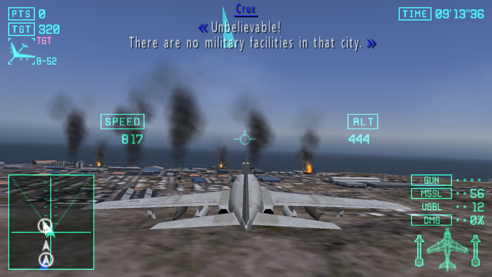 Screenshot Thumbnail / Media File 2 for Ace Combat X - Skies of Deception  (Europe