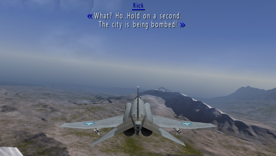 Screenshot Thumbnail / Media File 2 for Ace Combat X - Skies of Deception  (USA