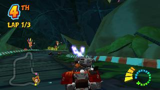 Screenshot Thumbnail / Media File 1 for Crash Tag Team Racing (Europe)