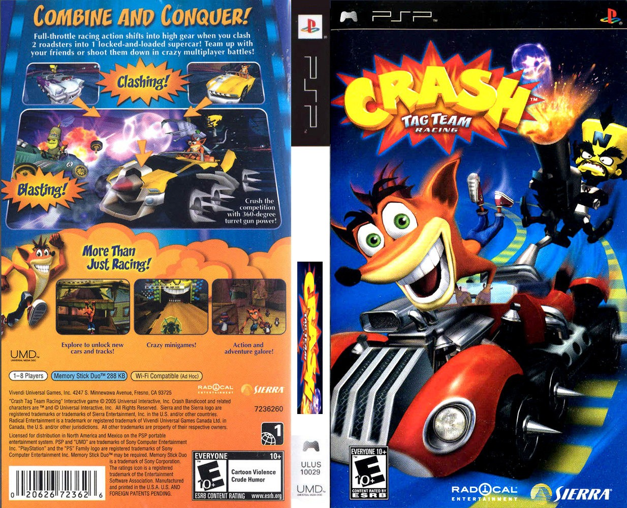 Crash Tag Team Racing (USA) ISO