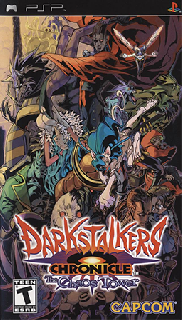 Screenshot Thumbnail / Media File 1 for Darkstalkers Chronicle - The Chaos Tower (USA)