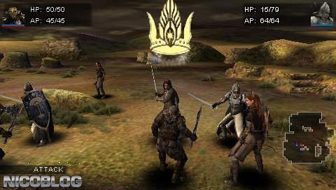 Lord of the Rings - Tactics, The (USA) ISO < PSP ISOs | Emuparadise