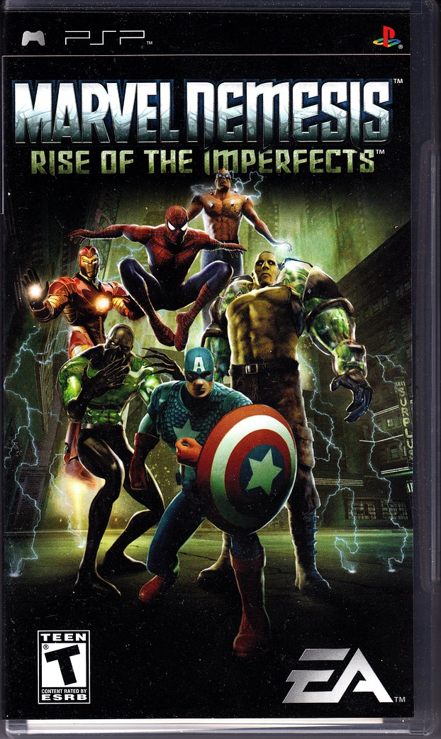 Marvel Nemesis - Rise of the Imperfects (USA) ISO < PSP ISOs