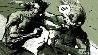 Screenshot Thumbnail / Media File 1 for Metal Gear Solid - Digital Graphic Novel (Europe)