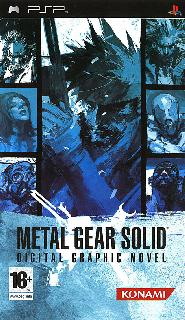 Screenshot Thumbnail / Media File 1 for Metal Gear Solid - Digital Graphic Novel (USA)
