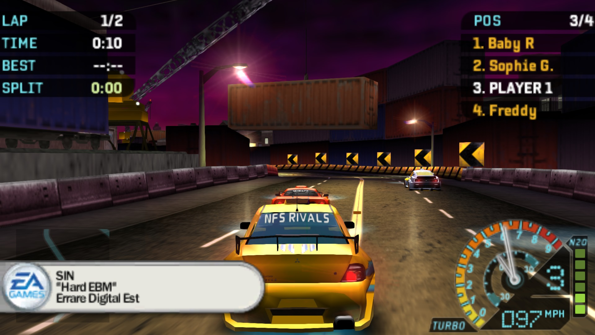 Need for Speed - Underground Rivals (USA) ISO < PSP ISOs