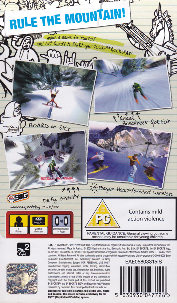 SSX on Tour Game