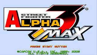 Screenshot Thumbnail / Media File 1 for Street Fighter Alpha 3 MAX (USA)