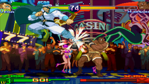 street fighter alpha psp