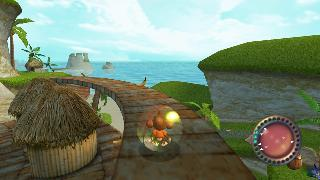 Screenshot Thumbnail / Media File 1 for Super Monkey Ball Adventure (USA)
