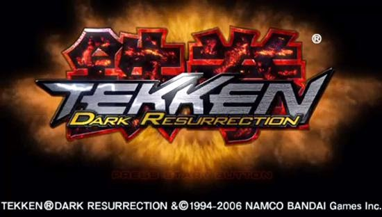 Tekken Dark Resurrection Europe Iso Psp Isos Emuparadise