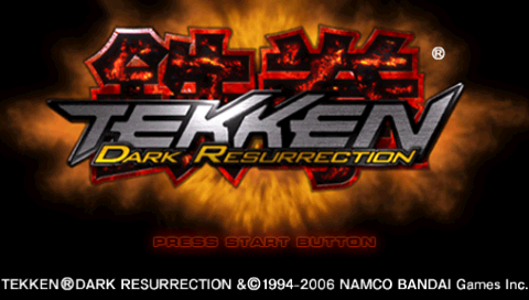 Tekken Dark Resurrection Usa Iso Psp Isos Emuparadise