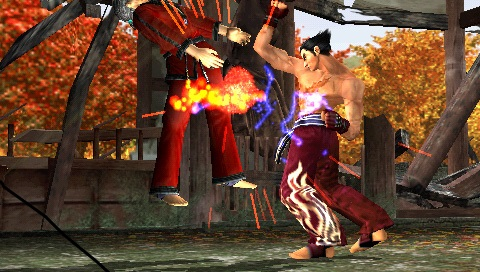 Tekken - Dark Resurrection (USA) ISO < PSP ISOs | Emuparadise