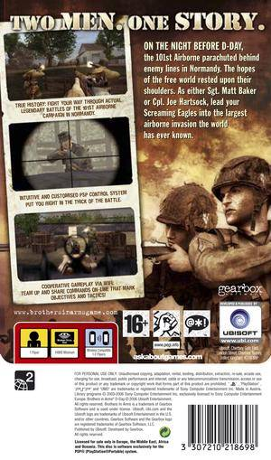 Brothers In Arms D Day Europe Iso Psp Isos Emuparadise