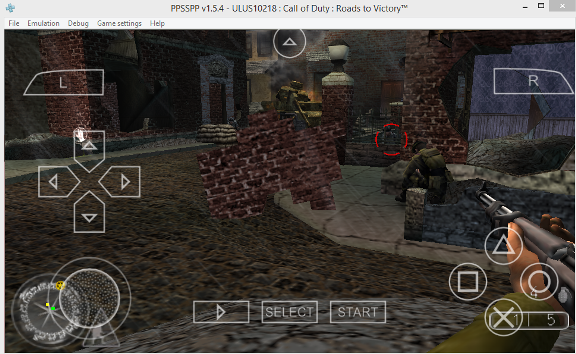 Call of Duty - Roads to Victory (USA) ISO < PSP ISOs