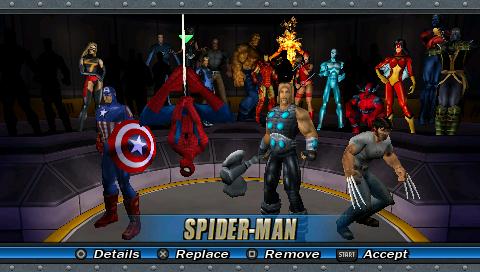 Resultado de imagen para Marvel Ultimate Alliance psp