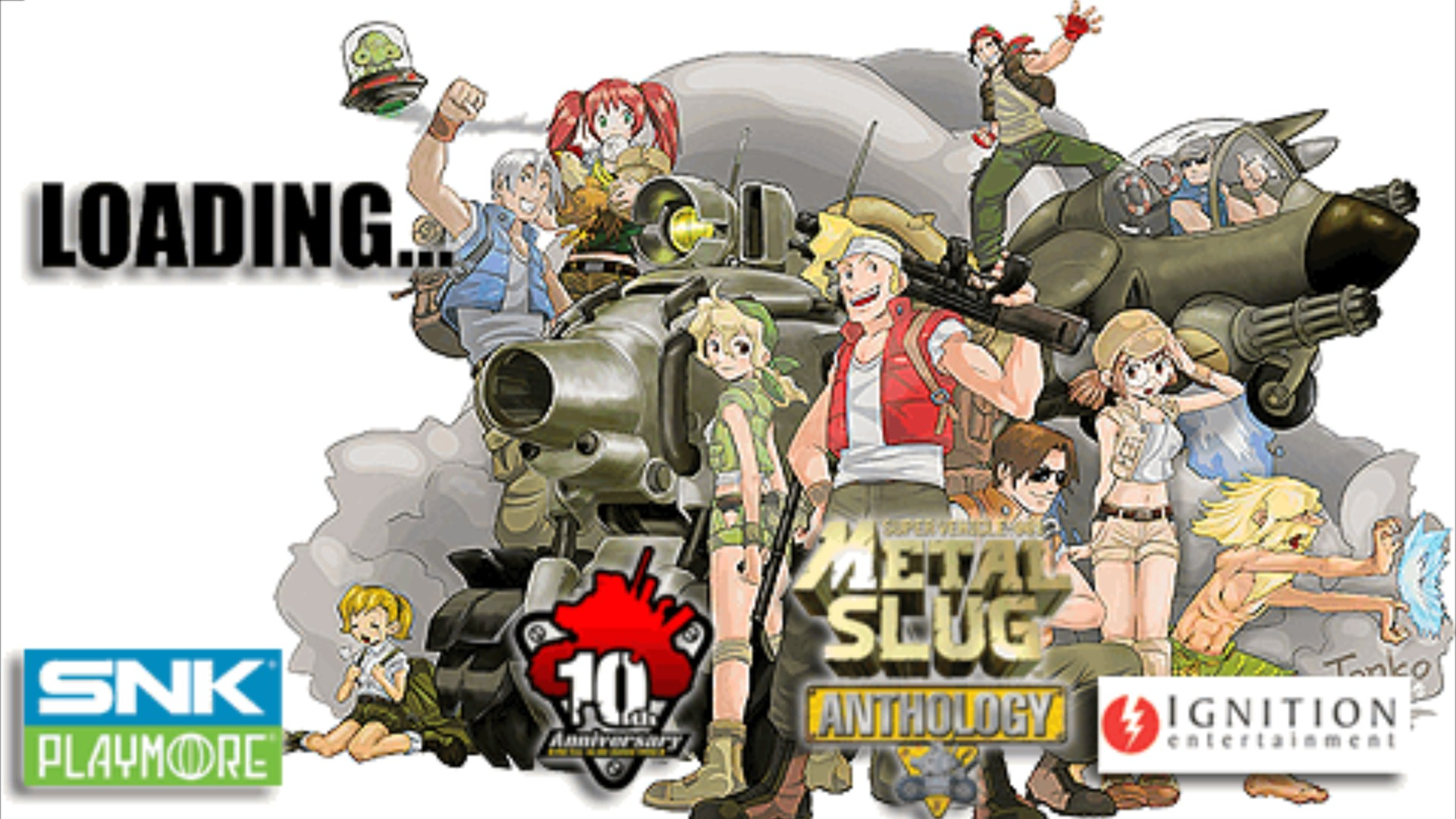 Full & free games download: metal slug anthology.
