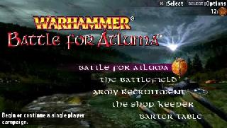 Screenshot Thumbnail / Media File 1 for Warhammer - Battle for Atluma (USA)