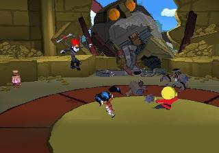 Screenshot Thumbnail / Media File 1 for Xiaolin Showdown (USA)