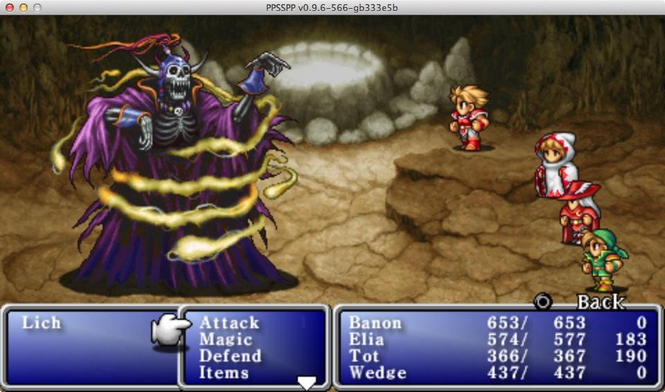 Final Fantasy Anniversary Edition - PSP - ISO