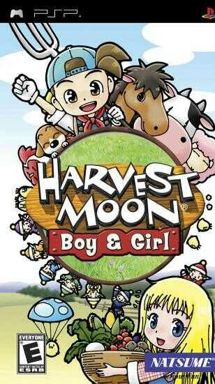 Harvest Moon - Boy & Girl (USA) ISO < PSP ISOs   Emuparadise