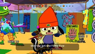 Screenshot Thumbnail / Media File 1 for PaRappa the Rapper (Europe)
