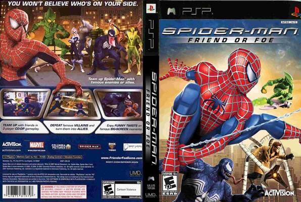 скачать игру Spider Man на Psp - фото 7