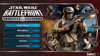 Screenshot Thumbnail / Media File 1 for Star Wars Battlefront - Renegade Squadron (Europe)