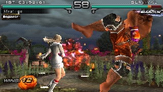Screenshot Thumbnail / Media File 1 for Tekken - Dark Resurrection (v2) (Europe)