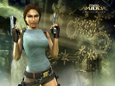 скачать игру Tomb Raider Anniversary на Psp - фото 3