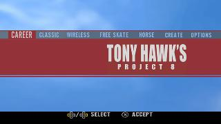 Screenshot Thumbnail / Media File 1 for Tony Hawk's Project 8 (Europe)