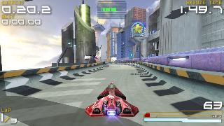 Screenshot Thumbnail / Media File 1 for Wipeout Pure (Greatest Hits) (USA)