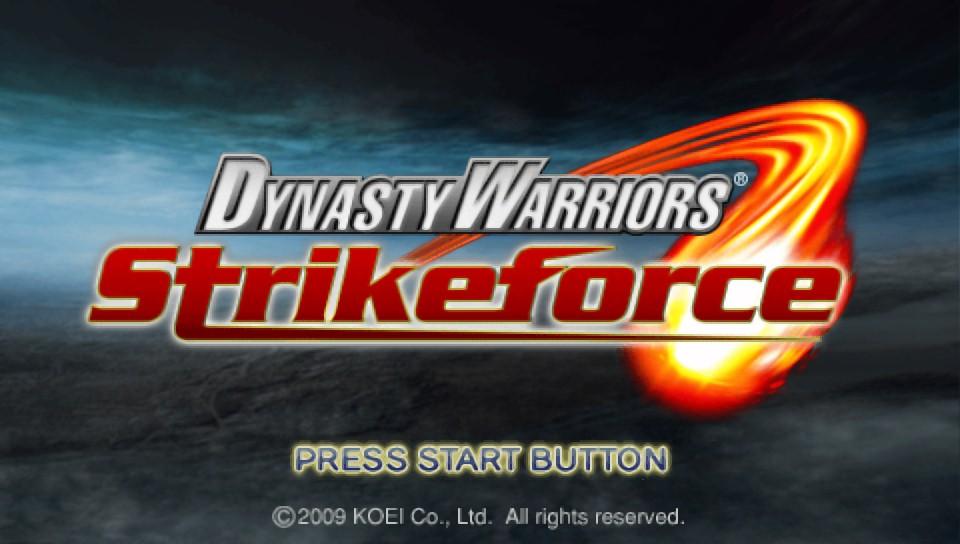 Dynasty warriors®: strikeforce game | psp playstation.