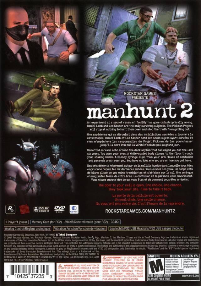 Manhunt 2 (Europe) ISO