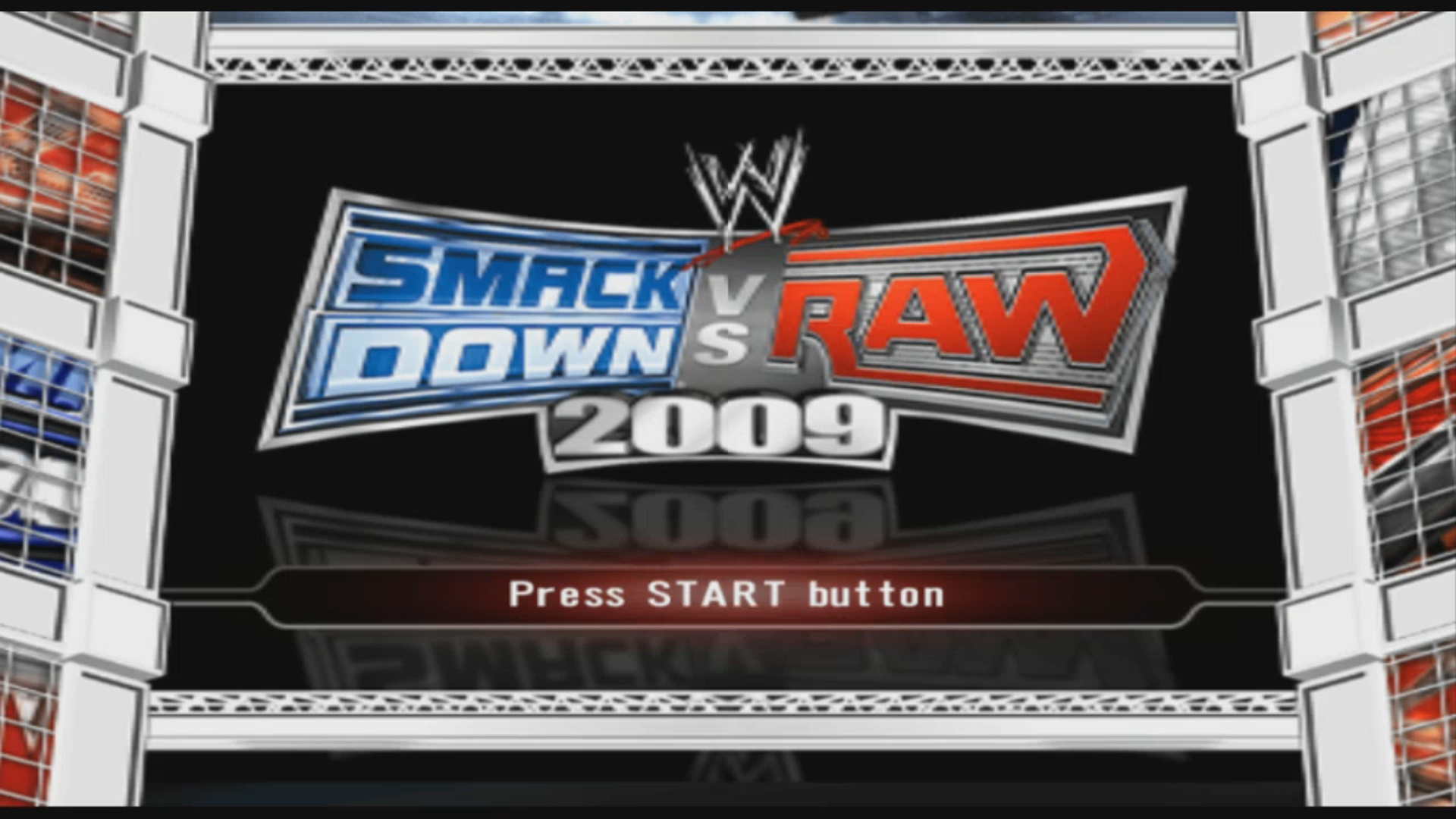 WWE SmackDown! vs  RAW 2009 featuring ECW (USA) ISO < PSP