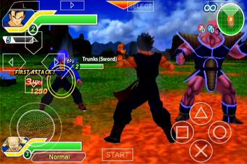 dragon ball z tenkaichi tag team psp iso gratuit
