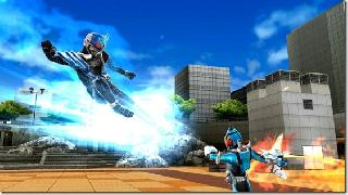 Screenshot Thumbnail / Media File 1 for Kamen Rider Climax Heroes OOO (Japan)