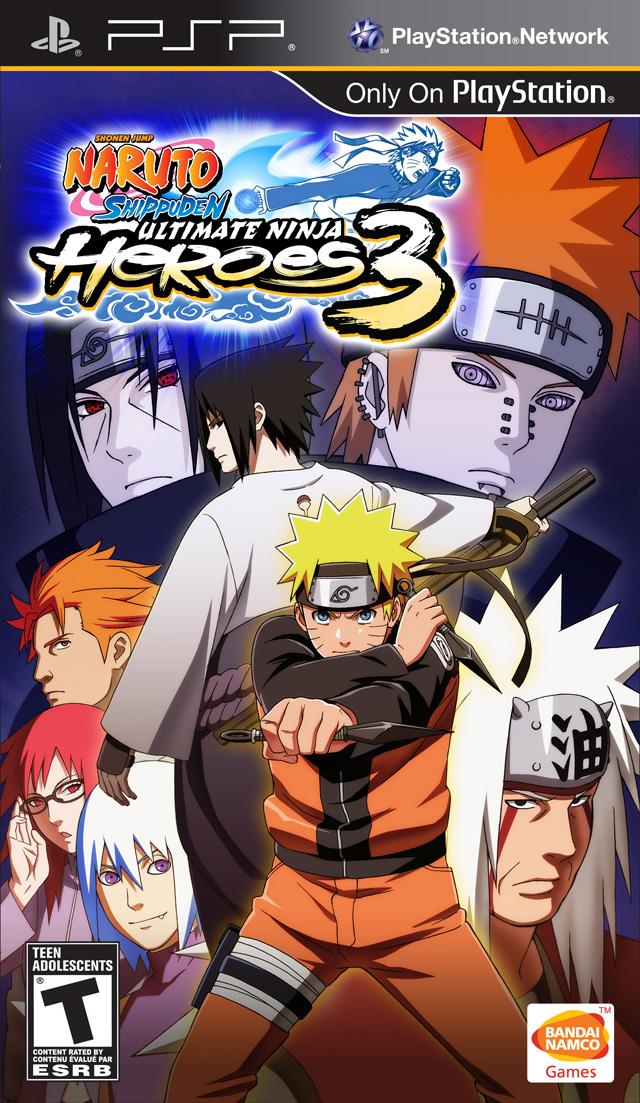 Naruto Ultimate Ninja Heroes 3 Ppsspp Iso