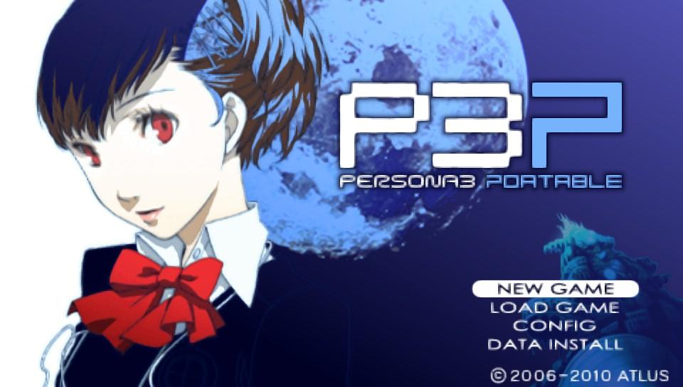 Iso persona 3 portable Persona 3