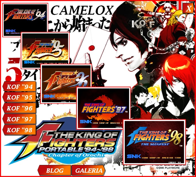 Warriors Of Orochi 2 Psp Iso: The King Of Fighters Portable 94-98