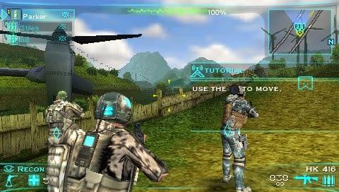 Tom Clancys Ghost Recon - Predator (USA) ISO < PSP ISOs