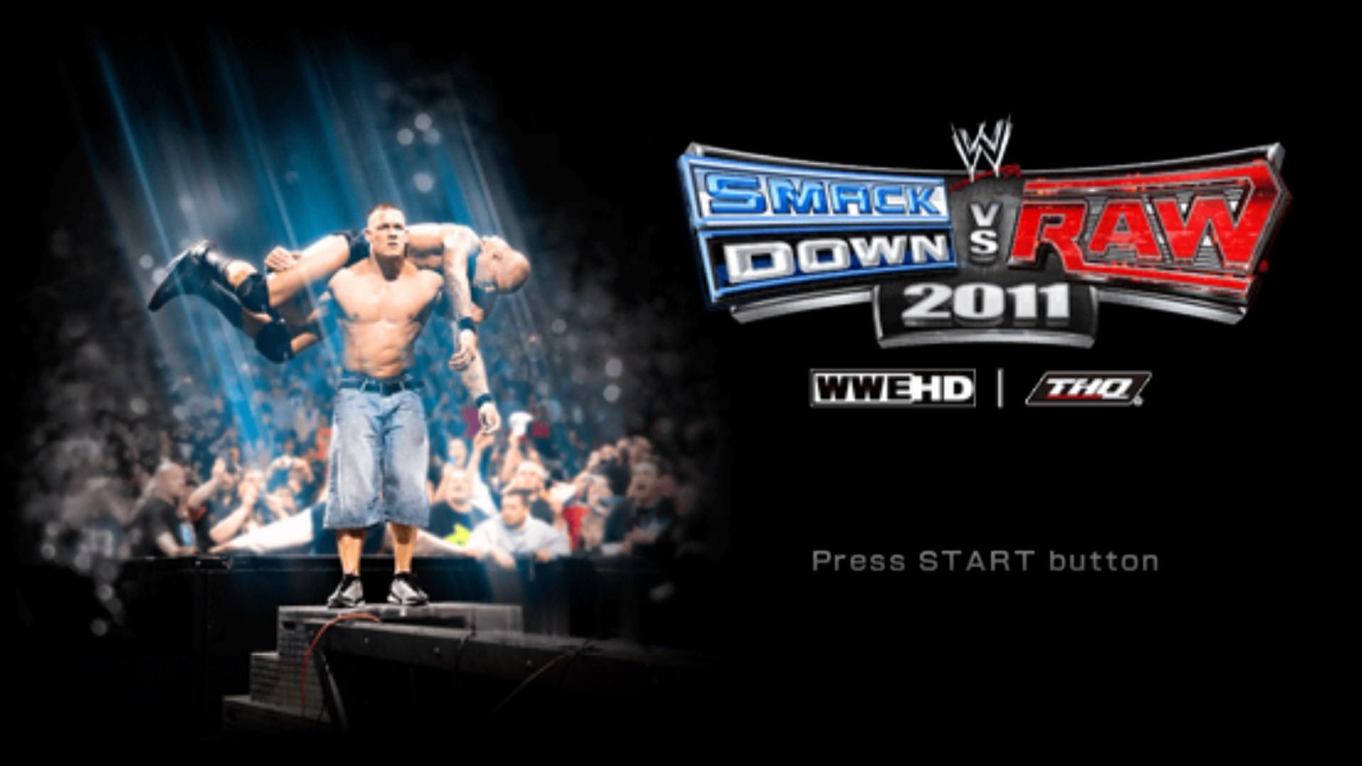 wwe vs smackdown 2011