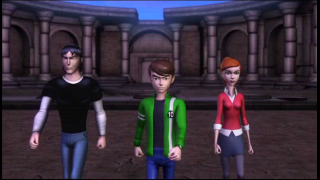 Screenshot Thumbnail / Media File 1 for Ben 10 - Ultimate Alien - Cosmic Destruction (Europe)