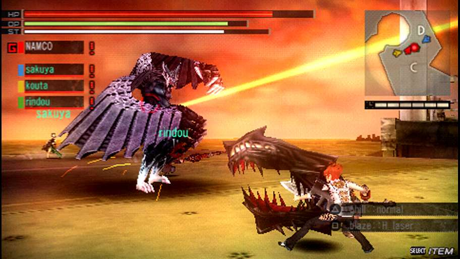 download god eater 2 psp iso emuparadise