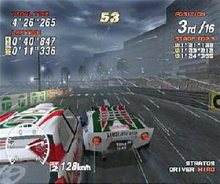 Screenshot Thumbnail / Media File 1 for Sega Rally 2 (USA)